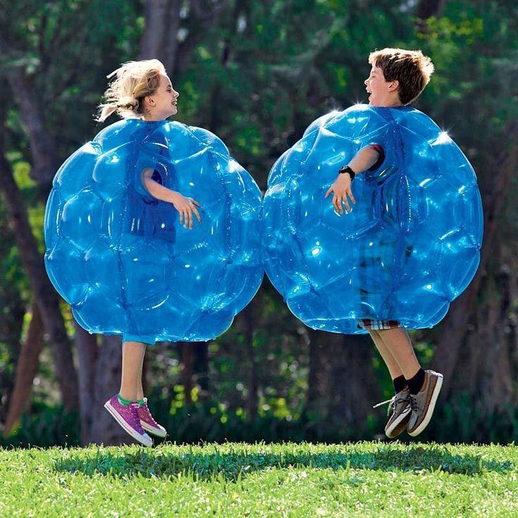 インフレータブルボディバンパーボールPVC空気  バブル90cm屋外子供向けゲームサッカーサッカー