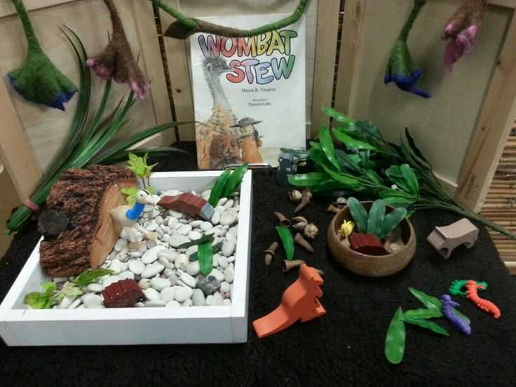 Imaginative play - Wombat stew