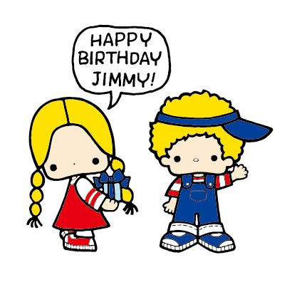 Sanrio: Patty & Jimmy:)