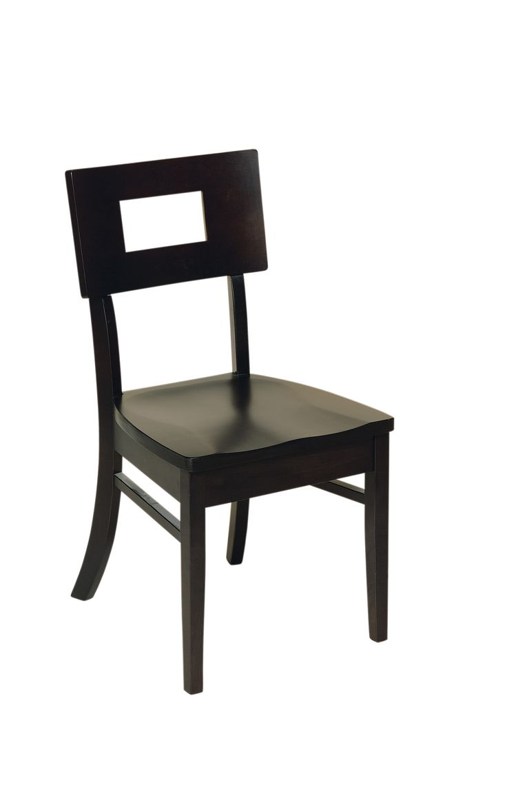 Gallery pictures for good quality dining chairs carson armchair amish - The Kirkland Dining Chair Is Shown In Brown Maple With An Espresso Stain