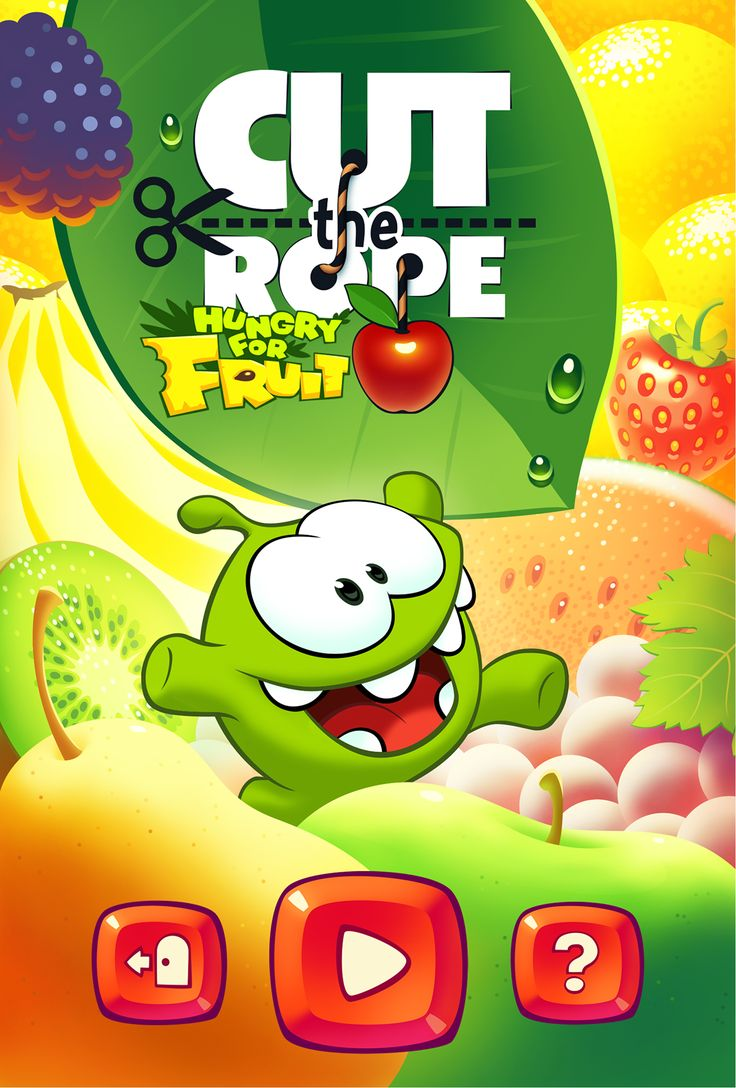Cut fruits game - Cut The Rope Hungry For Fruit On Behance