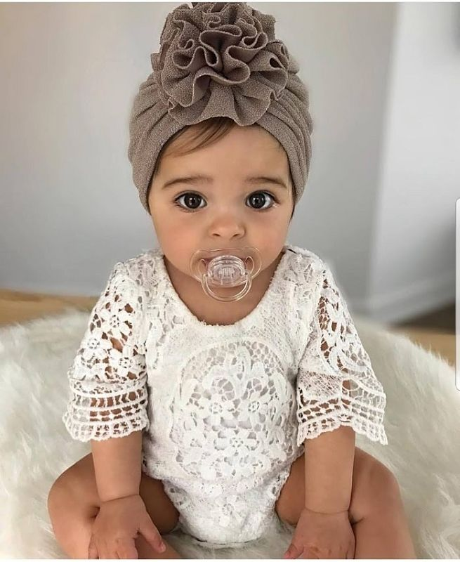 Lovely Lace Ruffle Sleeve Romper | Find Unique Trendy Baby ...