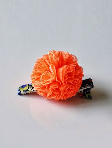 the | neon pommy | hair clip - WUNWAY