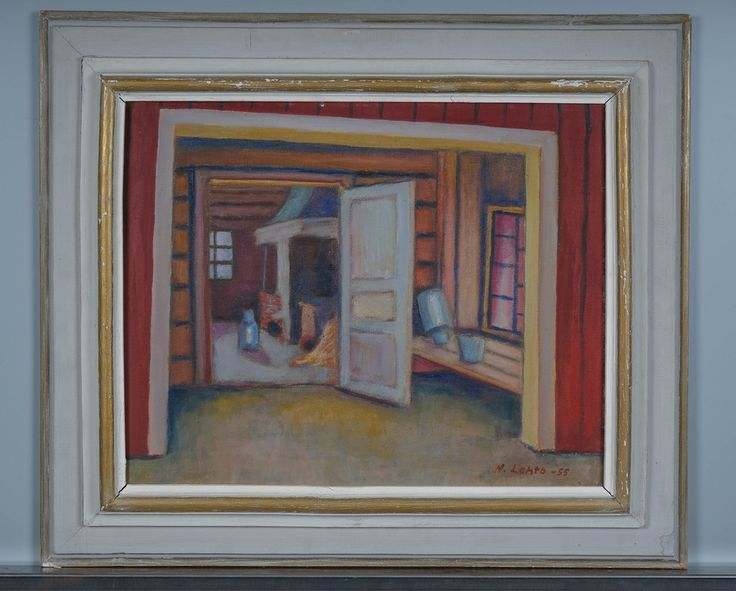 Nikolai Lehto, 1955, 33x41 cm - Huutokauppa Helander 1/2016