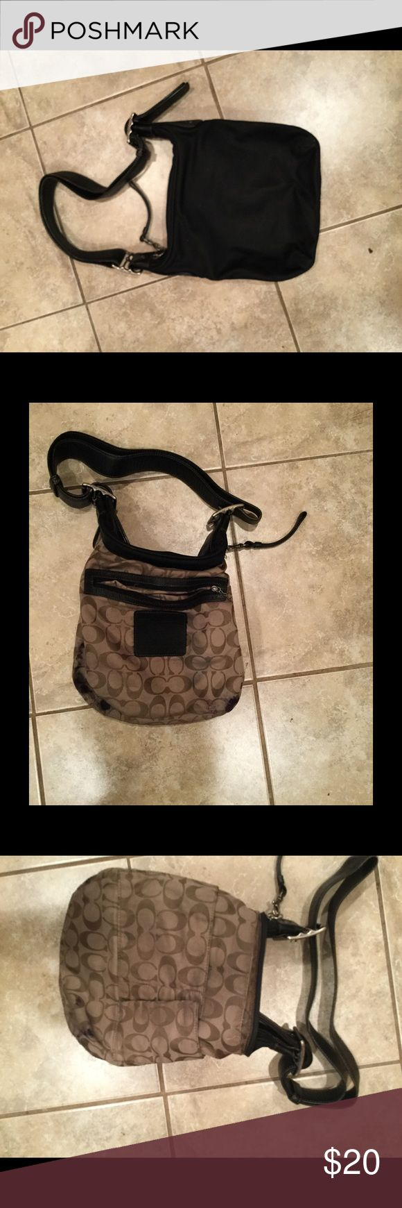 Coach bag In good condition.  The inside has some ink stains as shown. Coach Bags