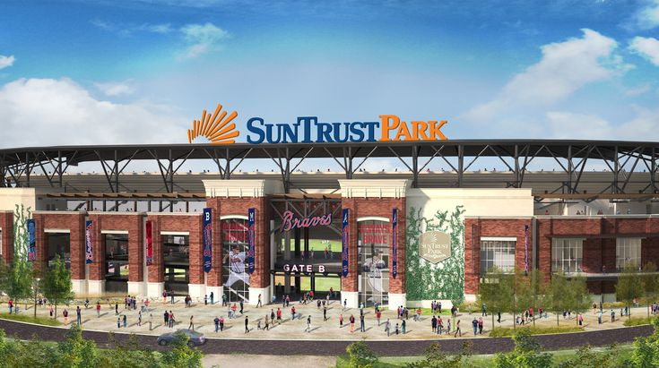 Meet SunTrust Park, the New Home of the Atlanta Braves