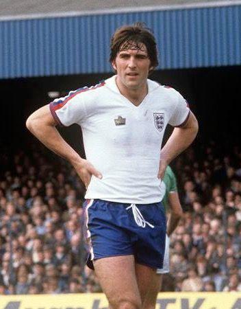 Bob Latchford of England in 1977.
