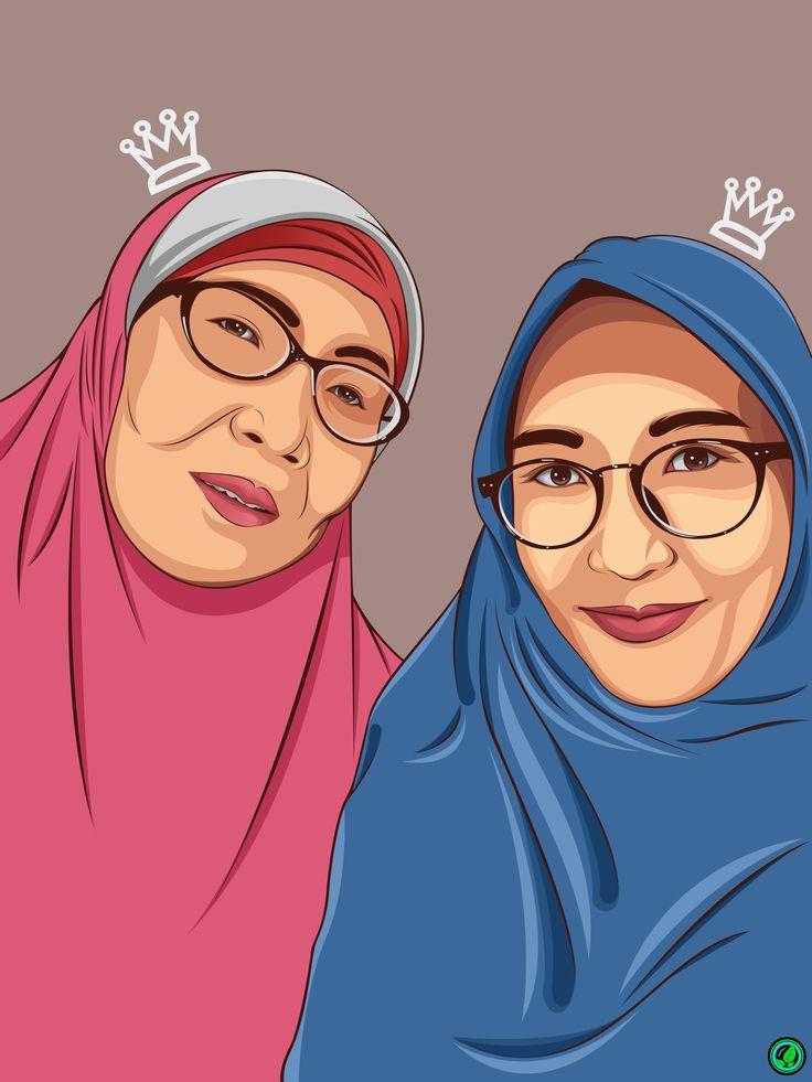 my mom n my sister