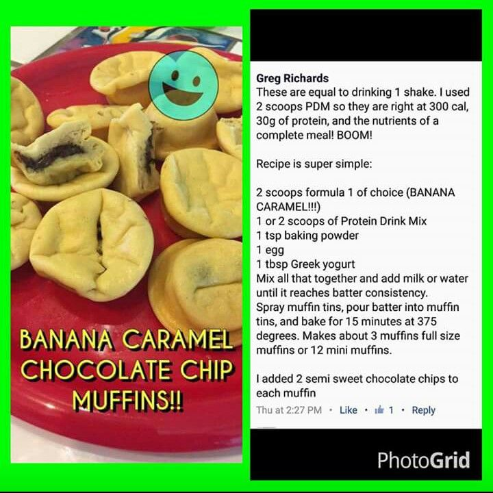 healthy banana caramel chocolate chip muffins  stock up on