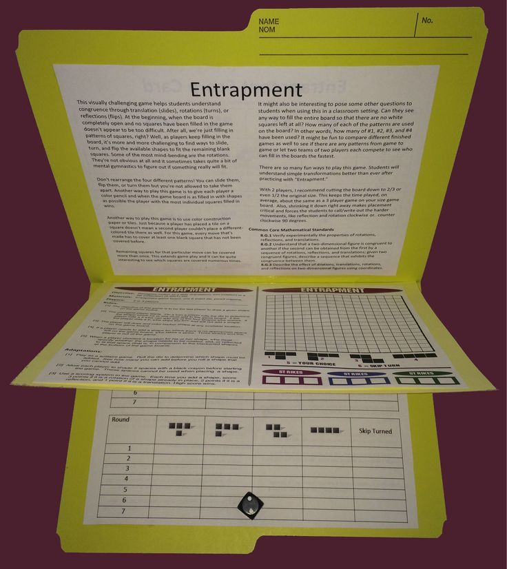 42 printable #math #games for upper elementary and middles school students, easy-to-setup for any math class! http://www.mathfilefoldergames.com/middle-school-math-games/