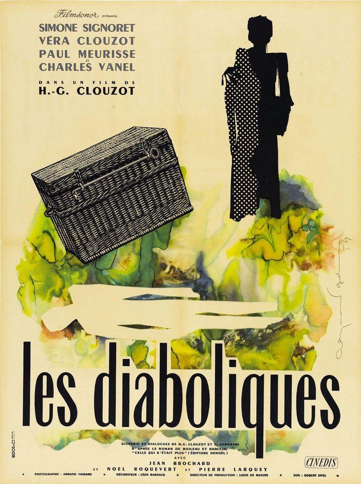 """""""Les diaboliques"""" (1955) Country: France. Director: H.G. Clouzot"""
