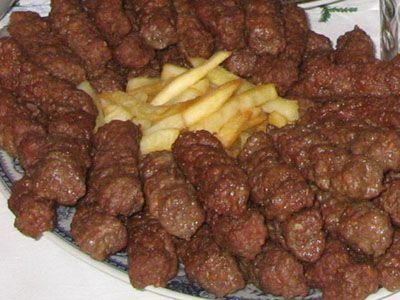 Csevapcsicsa és a plyeszkavica recept