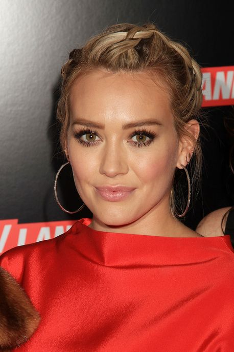 La tresse souple d'Hilary Duff