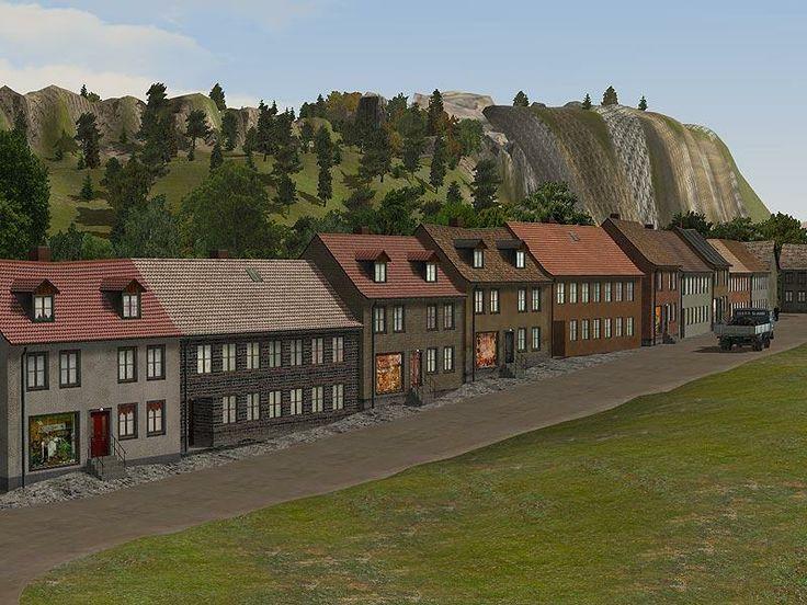 Dorfhäuser, Set 2
