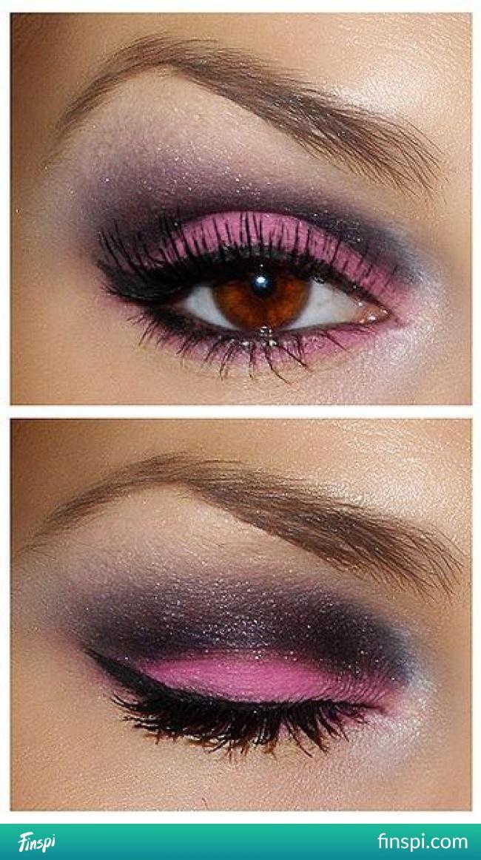 Brązowe oczy <3 #uroda #makijaż