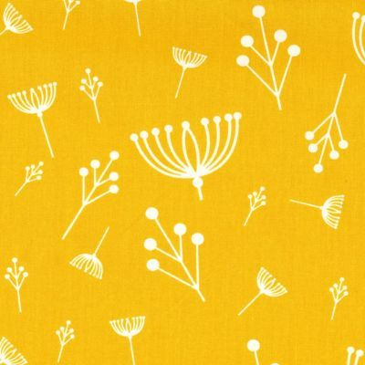 Charley Harper Twigs Sun Organic Cotton