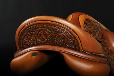 Here's another one you would like @Heather D. ! I would rather this one because it doesn't look like a dressage saddle. It's so pretty!