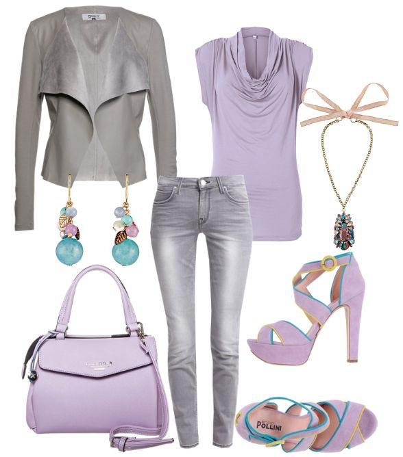 Flieder #fashion #style #look #dress #mode #outfit