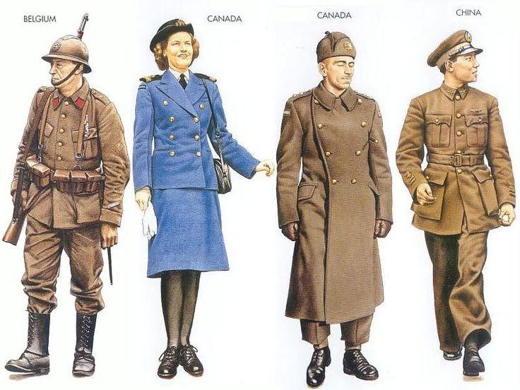 Belgium - 1940 May, Belgium, Sergeant, Belgian Army Canada ...