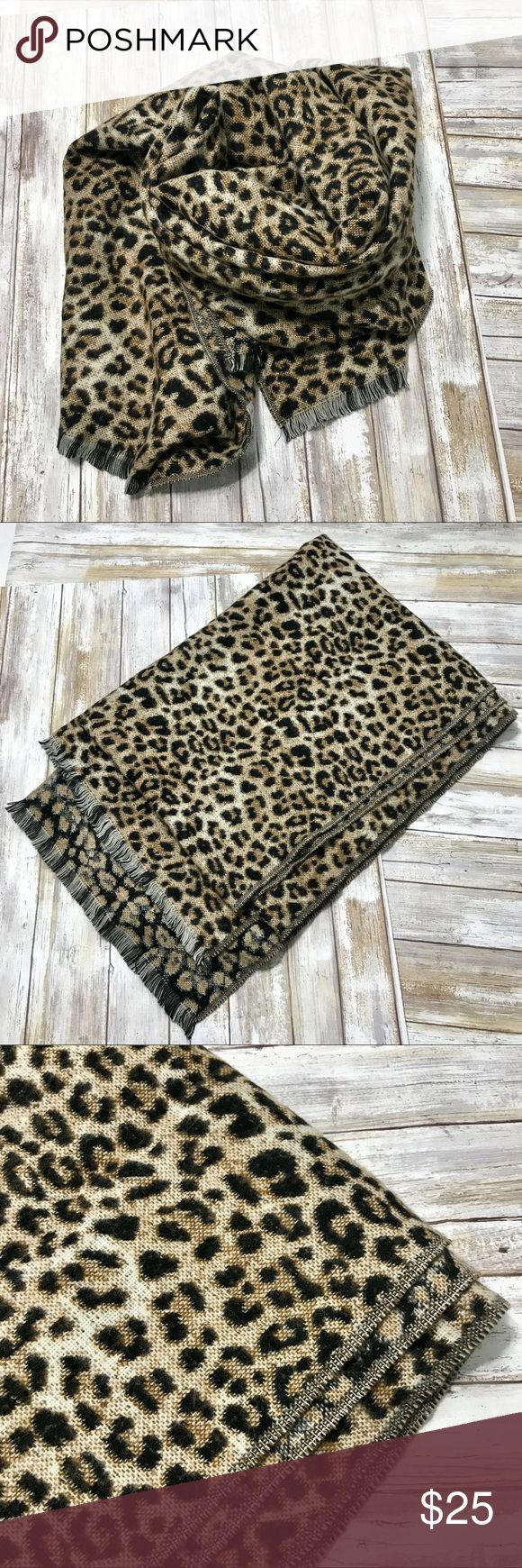 ‼️Cheetah Scarf XL‼️ Awesome Cheetah Scarf! By A New Day.  I love this baby's. Had to have her for my closet. It's so soft and so large...it's like a blanket! So versatile. Perfect for travel. Warm and has timeless style.  Brand new w detached tags. a new day Accessories Scarves & Wraps