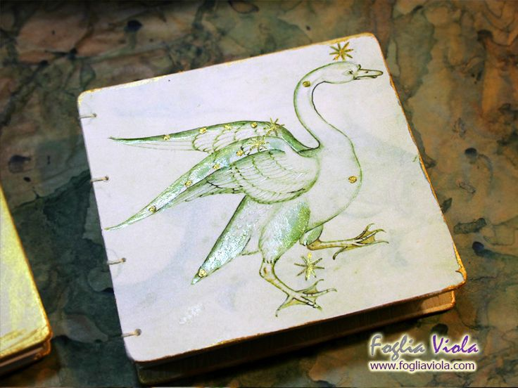 Medieval Whisper collection Cigno    #bibliophilia #middleages #cigno #animal #constellation #constellazione #wings #ali #fantasy #handmade #notebook #book #journal #medieval #medioevo #antique #manoscritto #vintage #nature #elegant #matrimonio #wedding #art #design #copticstitch