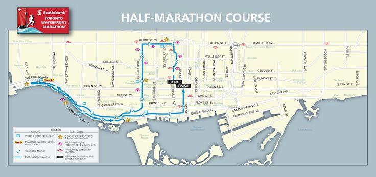 Half-Marathon - Scotiabank Toronto Waterfront Marathon