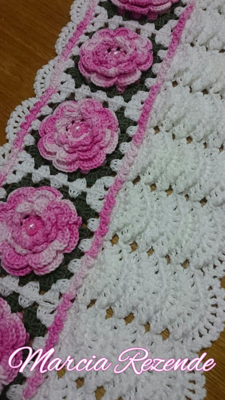 Barrado em Crochê   Marcia Rezende Arte em Crochê