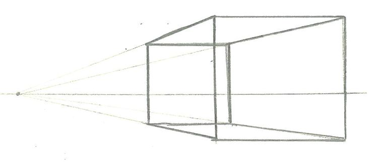 Page 6: 1 Point Perspective Cube