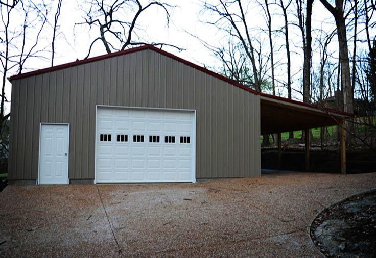 42 best pole barn images on pinterest pole barns garage for Detached garage utah