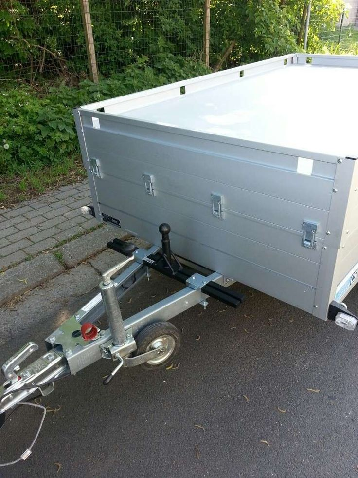 Remorque Bagagere Avec Porte Velo Pour Cinq Velo Recherche Google - Porte vélo caravane sur flèche