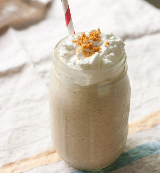 Banana Cream Pie Milkshake. This one is sooooo delish!
