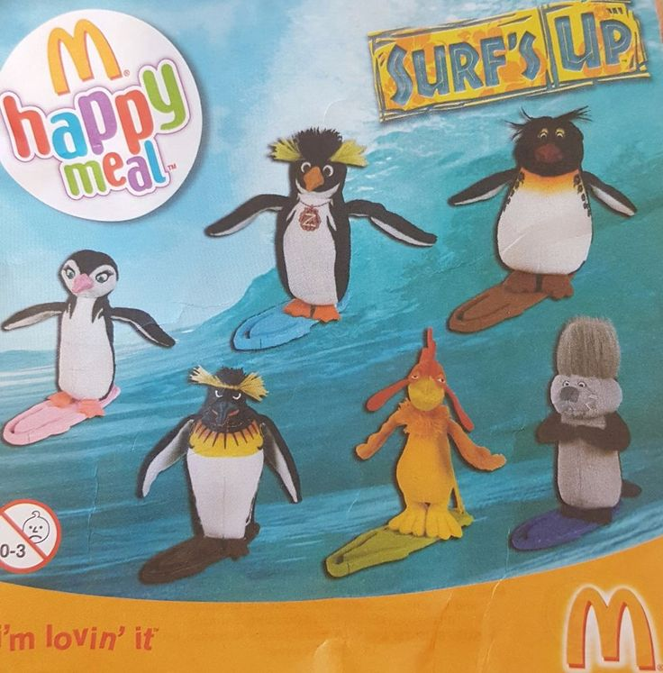 McDonalds Happy Meal Toy 2007 SURFS UP Movie Character - VARIOUS     eBay