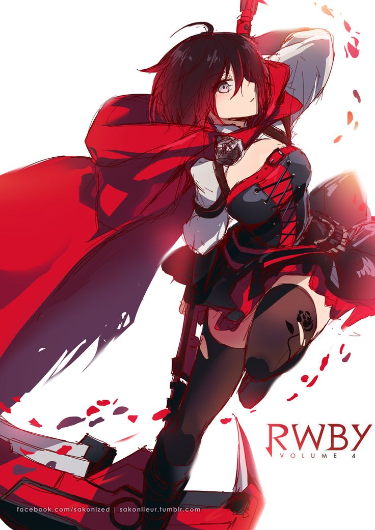 RWBY volume 4 Rubys new outfit
