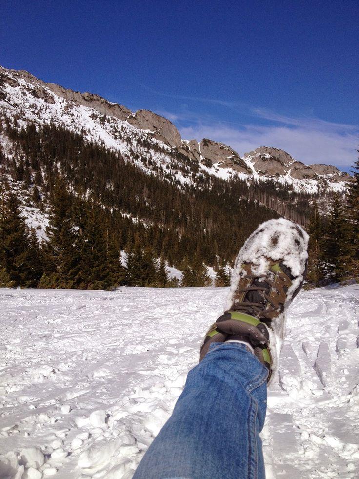 Gdzie mnie buty poniosą! #shoesontour #shoes #winter #mountains