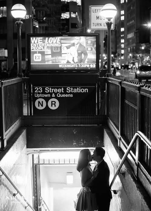 BRIDES New York: The Best Engagement Photo Locations in NYC