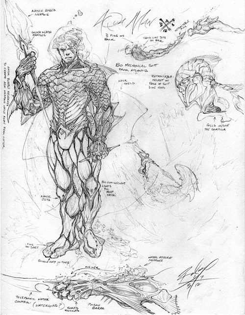 Justice League Concept Art (2/5) - Aquaman