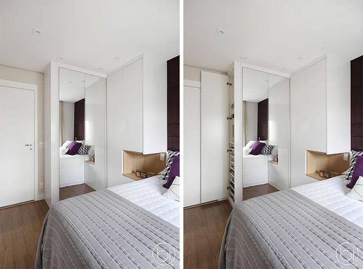 Um apartamento bonito e super funcional   – Design  #Dormitório Casal