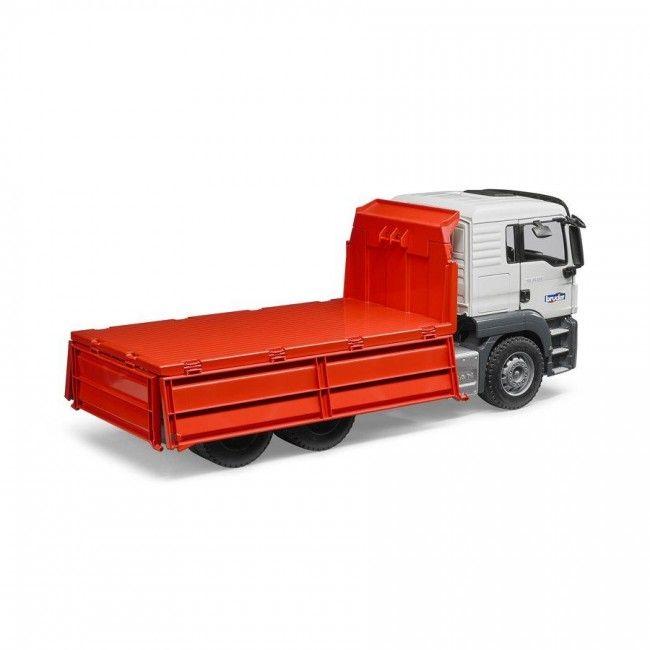 Bruder : Man TGS Camion benne rouge - Castello   Jeux et Jouets