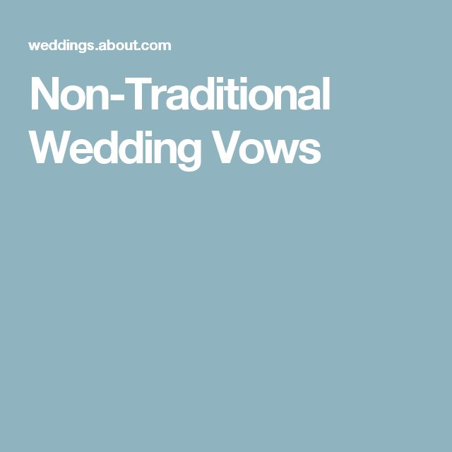 1000+ Ideas About Traditional Wedding Vows On Pinterest