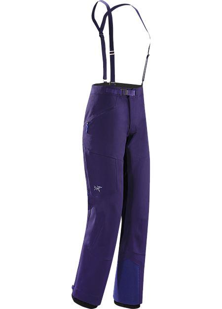 Procline FL Pantalon Femme Le pantalon softshell à la coupe ajustée pour femme conçu pour le ski alpinisme, extensible, procure une grande liberté de mouvement, protège de la neige et gère la chaleur pour un plus grand confort lors des ascensions techniques et intenses et des descentes exigeantes.