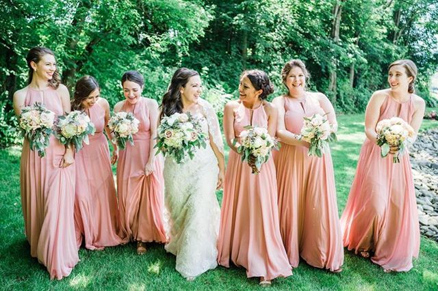 8061d19391c Desert Pink Bridesmaid Dresses by After Six Bridesmaid style 1502