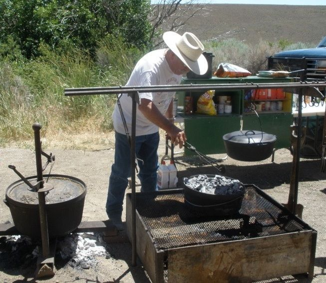 17 Best Images About Camping Cooking Equipment On: Part Of Trail Cooking Is Knowing How To Use Your Cast Iron