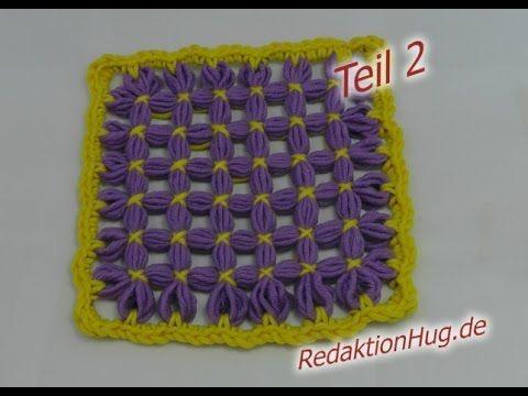 Loom Maxi - Anleitung Patch Teil 2 Basic - Veronika Hug - YouTube