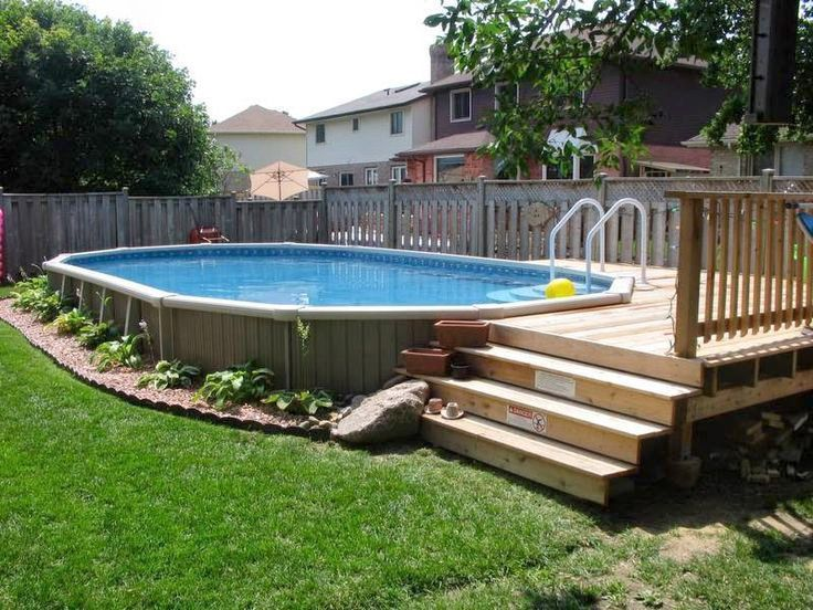 How Much Does An Above Ground Pool Cost Above Ground Pool Cost Pool Cost Above Ground Pool Landscaping