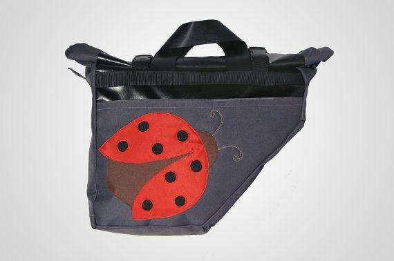 Waterproof Messenger Bagbike rack bag pannier bag by thePAUbag