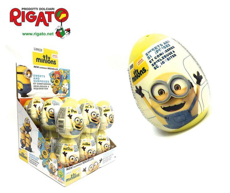 Stupisci tutti con i #nuovi personaggi #minions che trovi nei Minions Surprise Egg con Caramelle e Sorpresa...  #gioca con #gusto