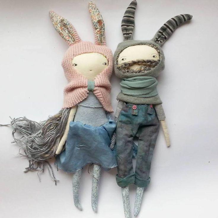 Awesome Handmade Toys: Rag Dolls