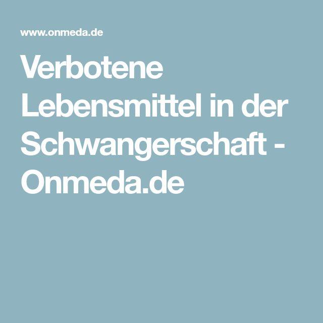 Verbotene Lebensmittel in der Schwangerschaft - Onmeda.de