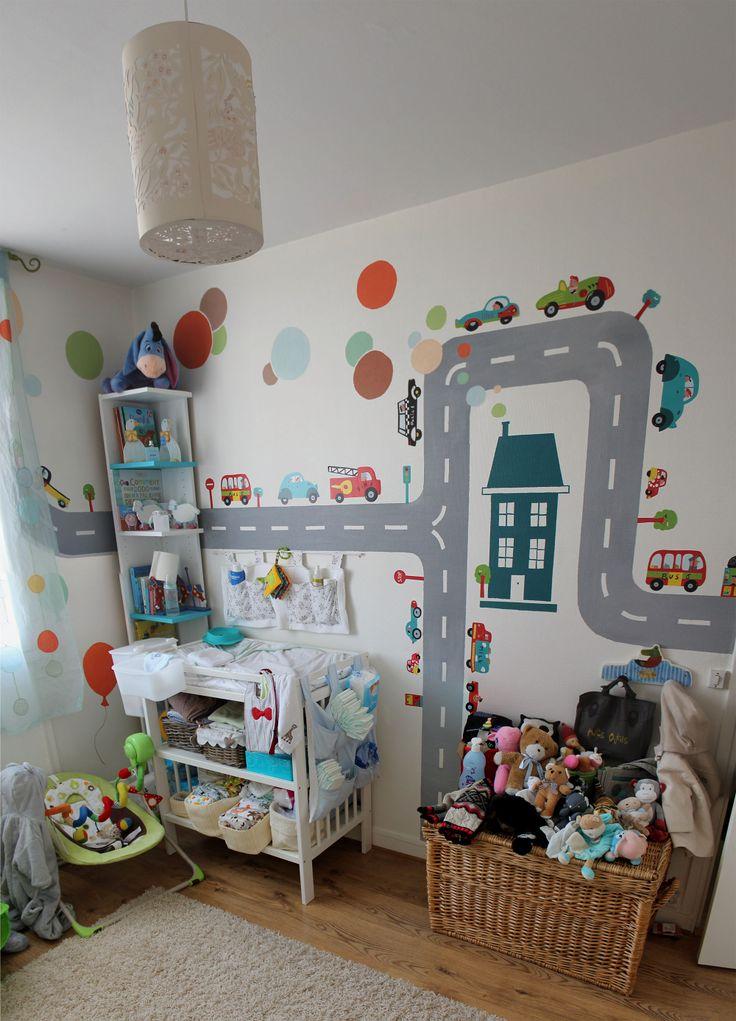 Les 254 meilleures images propos de d cor chambre d 39 enfant sur pinterest belle chambres - Decoratie murale chambre bebe ...