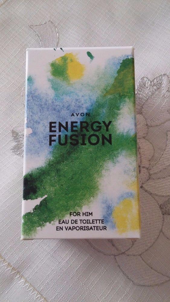 NUOVO PROFUMO UOMO ENERGY FUSION  AVON EAU DE TOILETTE SPRAY 50 ML